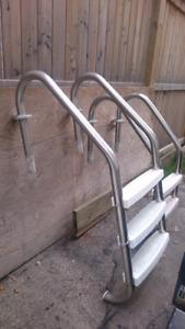 Stainless Steel Inground Pool Stairs
