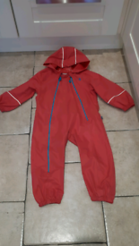 Pink puddlesuit age 3-4 years. Little light house