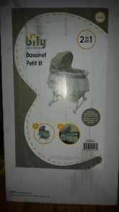 Billy 2 in 1 bassinet (in box, never opened)