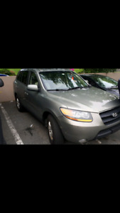 2009 santa fe fully loaded awd leather 116k