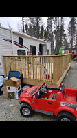 Building decks, patios  for the summer , 10 years experience