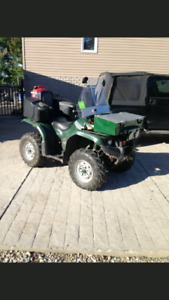 2007 Yamaha 350 Grizzly