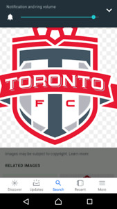 TORONTO FC TICKETS BEST DEAL FROM $30  LOWER  SECTION