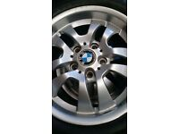 BMW alloy wheel 16