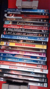 Blu-ray, dvds and tv series