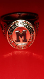 Montreal Maroons replica hockey Ring