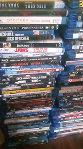 200 Blu Ray and around 80 DVD movie collection