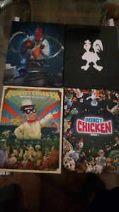 Complete Robot Chicken DVD Collection Vol.1 to Vol.4