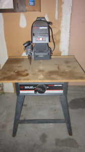 Craftsman (Sears) radial arm and mittre saw 10in with stand