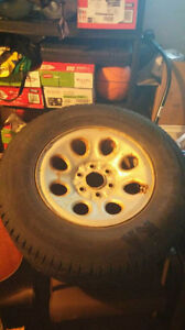 Four Sailun Ice Blazer 265/70R17 studded winter tires St. John's Newfoundland image 2