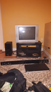 TV. And tv stand