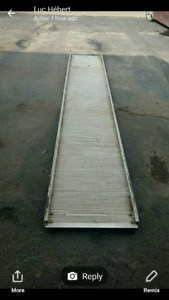 Ramp and roller bugie