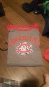Montreal Canadians nightie Size 8
