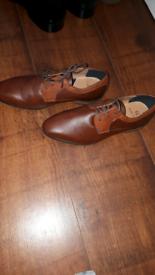 Kids tan shoes new