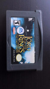 The Lord Of The Rings: Two Towers et Crash Bandicoot GBA