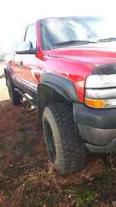 2001 chevrolet 2500 6.0l gas trade for a diesel