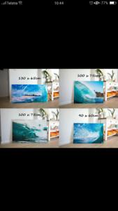 Canvas prints local artwork