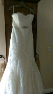 Size 12 ivory gown