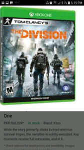 Looking for Tom Clancy The Division