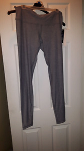 Nwt grey lululemon wunder under tights full length