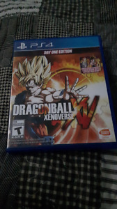Dragon Ball xenoverse mint condition