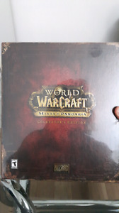 WOW Mist Of Pandaria Collector Edition Brand New Factory Sealed
