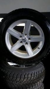 Pneus hiver et mags Dodge Ram 20 pouces