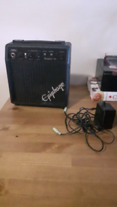 Combo deal. Acoustic/electric guitar with amp
