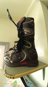 New fox dirt bike boots