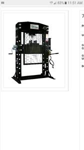 Air/Hydraulic Press