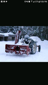 "Looking for a snow blower for tactor 80"" amd up"