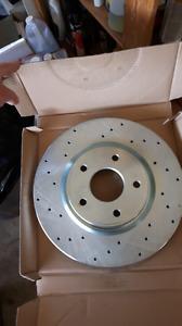 Brake pads and rotors