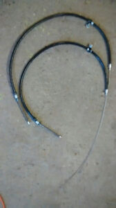 BRAKE CABLES FREINS CHEVY HHR (STAINLESS) (2) NEUFS