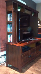 Solid cherry Entertainment unit London Ontario image 2