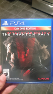 Metal Gear Solid The Phantom Pain ( Day One Edition)
