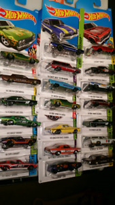 Hot wheels mainline American cars and trucks