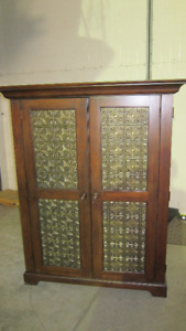 Solid Wood Armoire/ TV Entertainment Center
