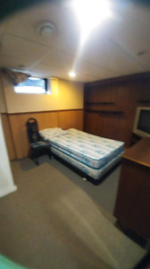 furnished basement room for rent in the south