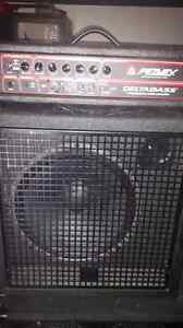 Peavey bass head and Yorkville cab