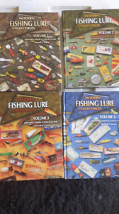 Vintage and antique fishing lure  reference  books
