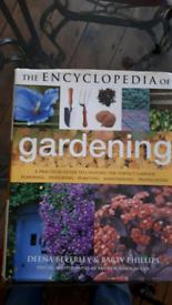 Large gardening book