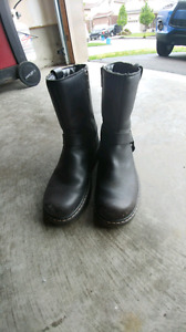 Womens Motorcycle Boots Size 9