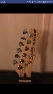 Fender Squire Telecaster  excellent condition
