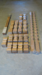Decorative solid wood spindles