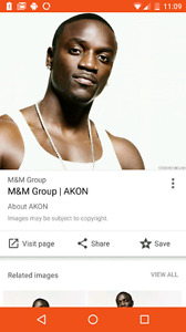 Meet & Greet ticket for Akon Wed June 28th