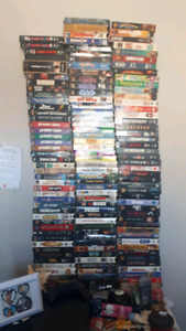 VHS Tapes.
