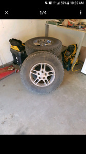 16 inch jeep rims and tires