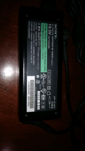 sony AC adapter from vaio laptop