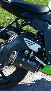 Two brothers slip on  exhaust 2013 and up zx6r