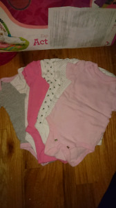 3-6 monts onsies for girls
